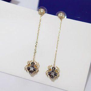 ♥Swarovski MANDARIN PINECONE pine cone earrings